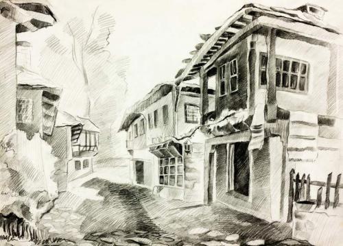 Рисунки карандашом 8930